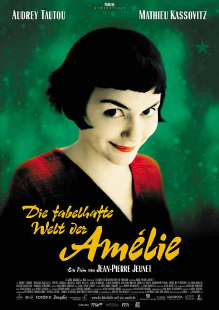Filmplakat Die fabelhafte Welt der Amélie