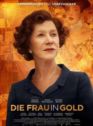 Filmplakat Die Frau in Gold