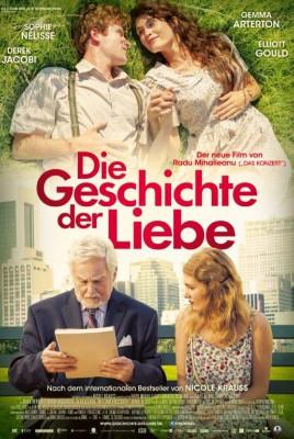Filmplakat Die Geschichte der Liebe