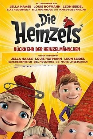 Filmplakat DIE HEINZELS - Rückkehr der Heinzelmännchen