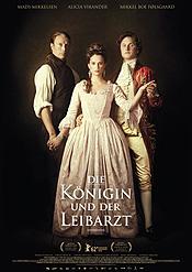 Filmplakat Die Königin und der Leibarzt
