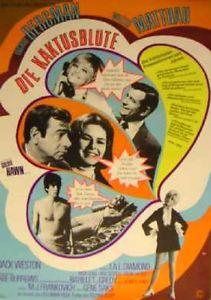 Filmplakat Die Kaktusblüte