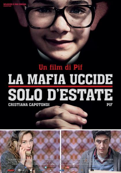 Filmplakat Die Mafia mordet nur im Sommer - La mafia uccide solo d estate - ital. OmU