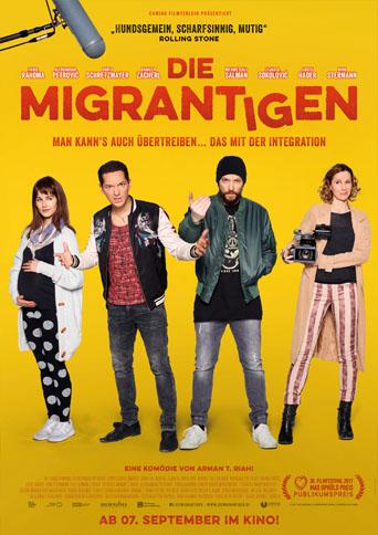 Filmplakat Die Migrantigen