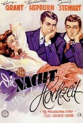 Filmplakat Die Nacht vor der Hochzeit - The Philadelphia Story