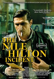 Filmplakat Die Nile Hilton Affäre - The Nile Hilton Incident - arab.Omdt.U