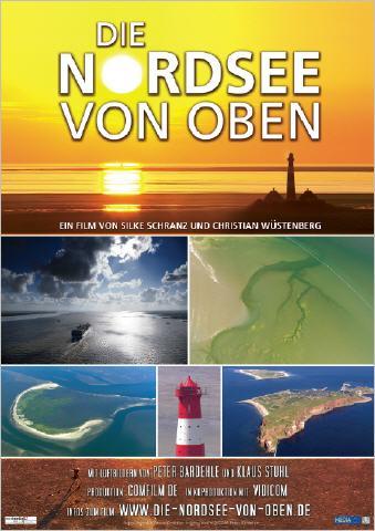 Filmplakat Die Nordsee von oben