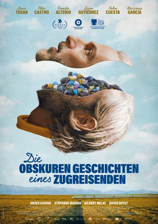 Filmplakat Die obskuren Geschichten eines Zugreisenden