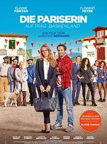 Filmplakat Die Pariserin - Auftrag Baskenland