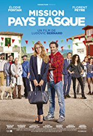 Filmplakat Die Pariserin - Mission Pays Basque - franz. OmU