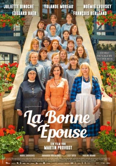 Filmplakat Die perfekte Ehefrau - LA BONNE ÈPOUSE - franz. OmU
