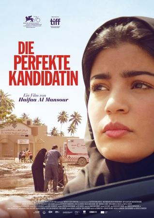 Filmplakat Die perfekte Kandidatin