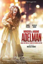 Filmplakat Die Poesie der Liebe - Monsieur & Madame Adelman - franz. OmU