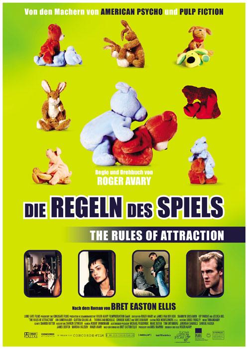 Filmplakat Bret Easton Ellis: DIE REGELN DES SPIELS