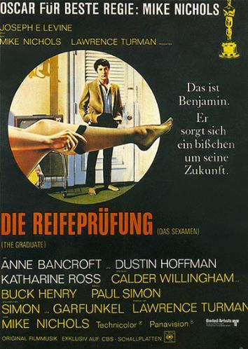 Filmplakat Die Reifeprüfung