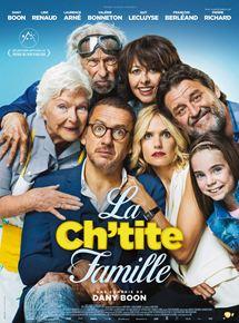 Filmplakat Die Sch'tis in Paris - Eine Familie auf Abwegen - La Ch'tite famille - franz. OmU