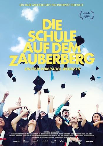 Filmplakat Die Schule auf dem Zauberberg