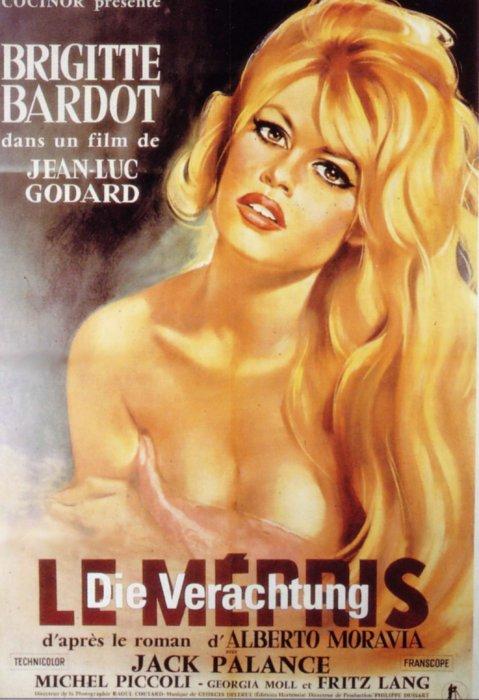 Filmplakat Die Verachtung - LE MÉPRIS - OmU