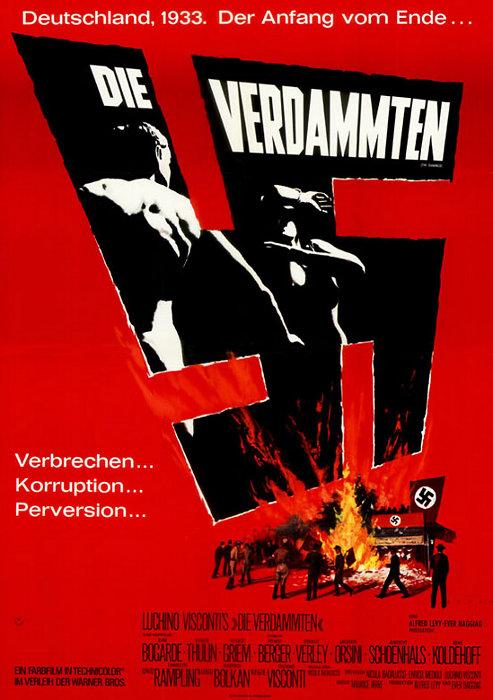 Filmplakat Die Verdammten