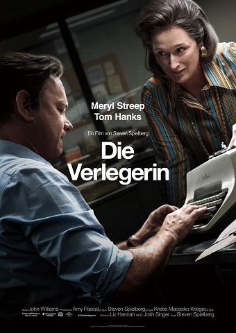 Filmplakat Die Verlegerin