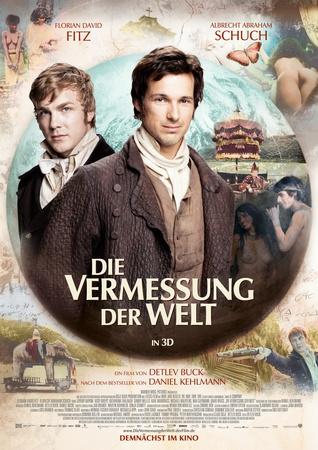 Filmplakat Die Vermessung der Welt