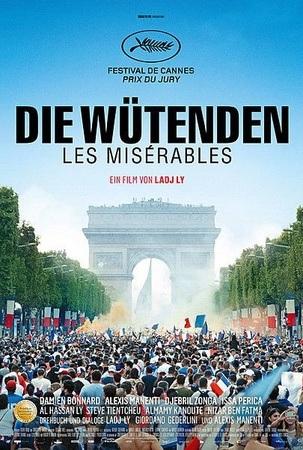 Filmplakat Die Wütenden