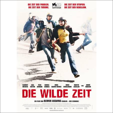 Filmplakat DIE WILDE ZEIT