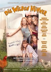 Filmplakat Die wilden Hühner