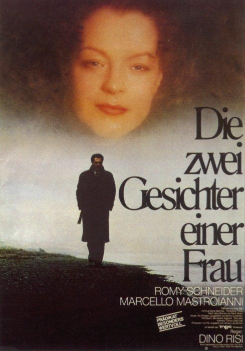 Filmplakat Die zwei Gesichter einer Frau