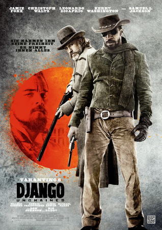 Filmplakat DJANGO UNCHAINED -engl. OmU