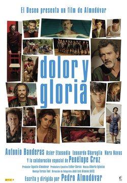 Filmplakat Leid und Herrlichkeit - DOLOR Y GLORIA - span. OmU