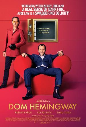 Filmplakat DOM HEMINGWAY