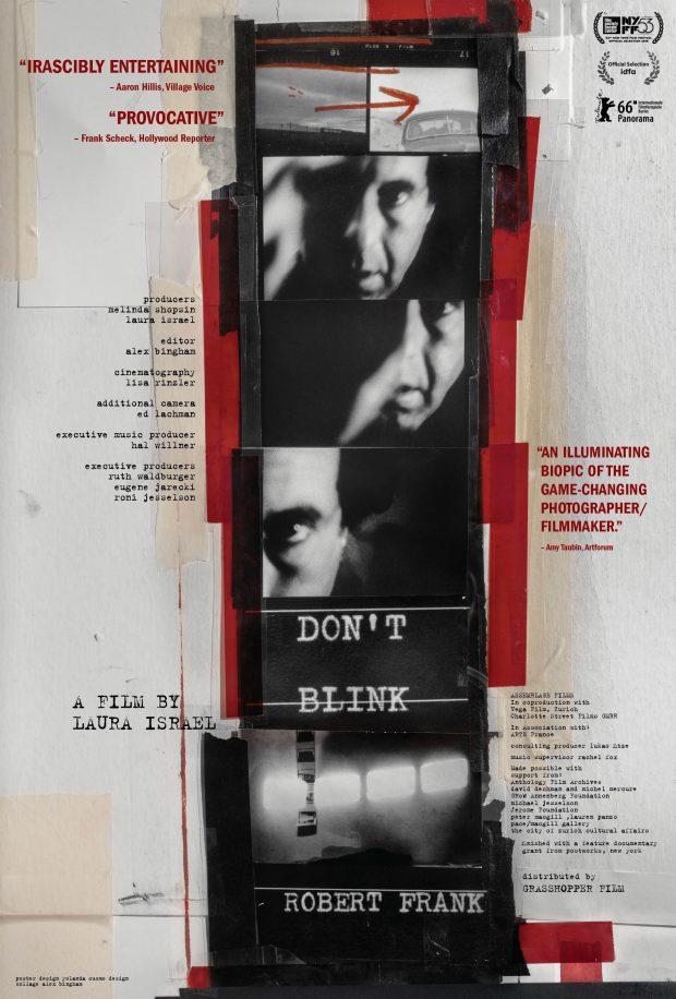 Filmplakat DON T BLINK - ROBERT FRANK OmU