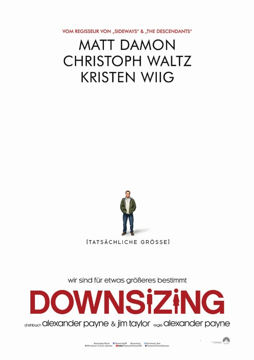 Filmplakat DOWNSIZING