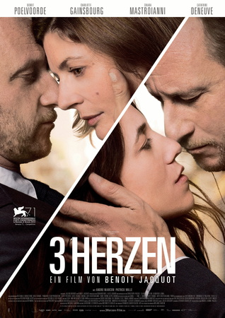 Filmplakat Drei Herzen