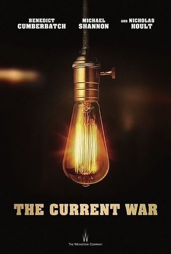 Filmplakat EDISON - Ein Leben voller Licht - THE CURRENT WAR - engl. OmU