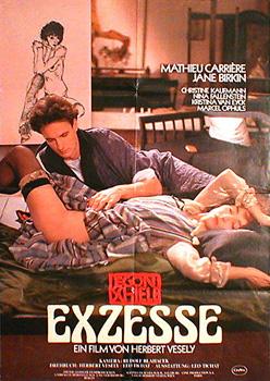 Filmplakat Egon Schiele: EXZESSE