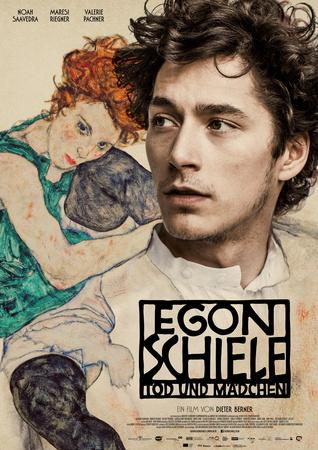 Filmplakat Egon Schiele