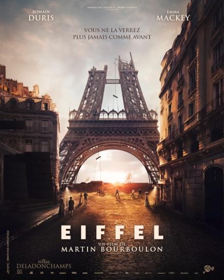 Filmplakat Eiffel in Love - EIFFEL - franz. OmU