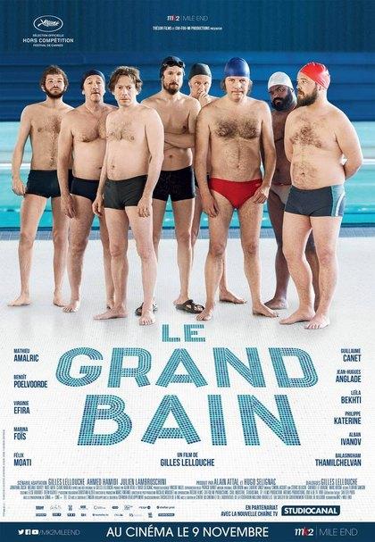 Filmplakat Ein Becken voller Männer - LE GRAND BAIN - franz. OmU