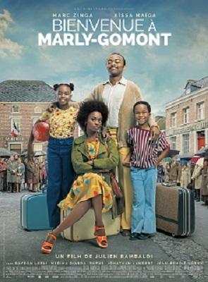 Filmplakat Ein Dorf sieht schwarz - Bienvenue  à Marly-Gomont - franz. OmU