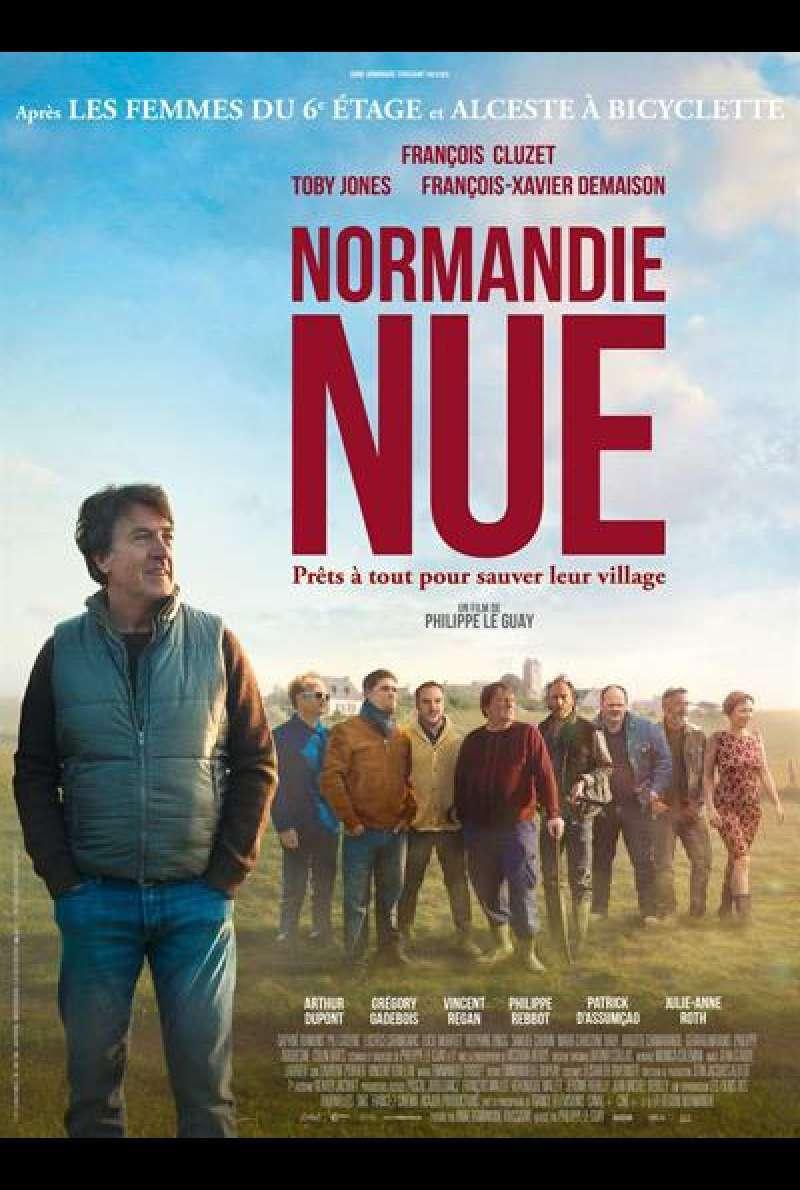 Filmplakat Ein Dorf zieht blank - NORMANDIE NUE - franz. OmU