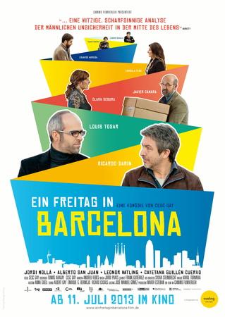 Filmplakat Ein Freitag in Barcelona - Una pistola en cada mano - span. OmU
