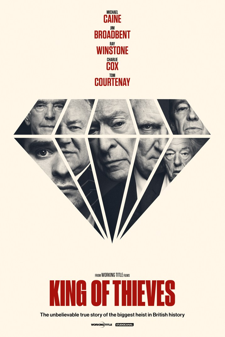 Filmplakat Ein letzter Job - KING OF THIEVES - engl. OmU