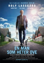 Filmplakat Ein Mann namens Ove - En man som heter Ove - schwd. OmU