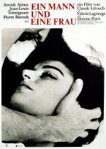 Filmplakat Ein Mann und eine Frau