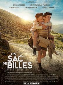 Filmplakat Ein Sack voll Murmeln - UN SAC DE BILLES - franz. OmU