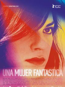 Filmplakat Eine fantastische Frau - UNA MUJER FANTASTICA - span. Omu