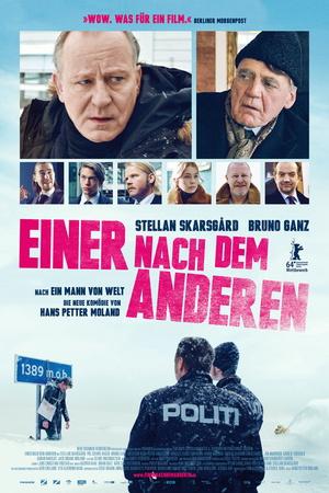 Filmplakat Einer nach dem Anderen - KRAFTIDIOTEN - norw. OmU