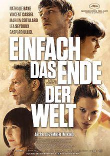 Filmplakat Einfach das Ende der Welt